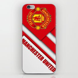 Manchester United : The Red Devils iPhone Skin