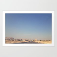 The Way to Jericho Art Print