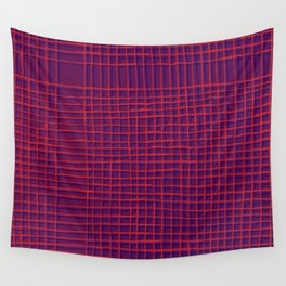 Left - purple Wall Tapestry
