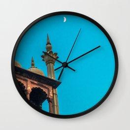 Jama Masjid´s dome in Delhi Wall Clock