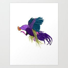 dont get cocky, kid Art Print