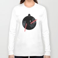 sith Long Sleeve T-shirts featuring Sith Uprising by Steven Toang