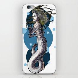 Sea Lamprey Mermaid iPhone Skin