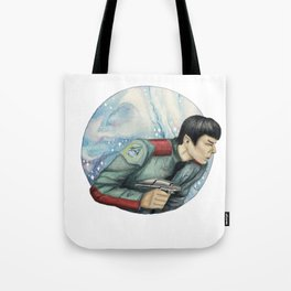 Captain, you almost make me believe in luck Tote Bag