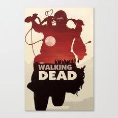 Daryl Dixon - Red Canvas Print
