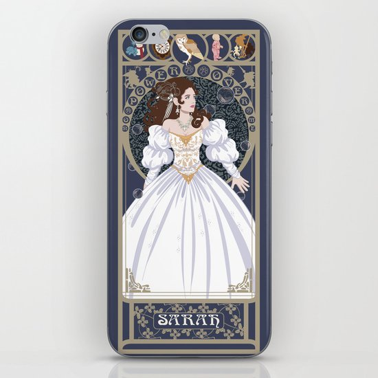 Sarah Nouveau - Labyrinth iPhone & iPod Skin