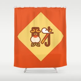 Money King Shower Curtain