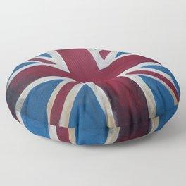 Union Jack Antique Floor Pillow
