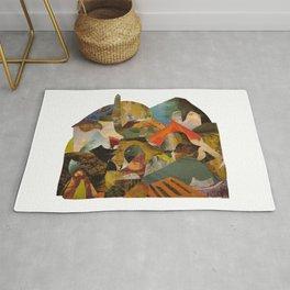 Art History Landscape Study Rug