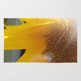Bright Sunny Sunflower Rug