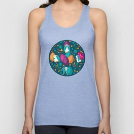 Busy Easter Bunnies Unisex Tank Top