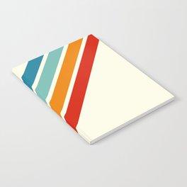 Alator - Classic 70s Retro Summer Stripes Notebook