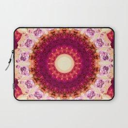 Kindness Mandala Art by Sharon Cummings Laptop Sleeve