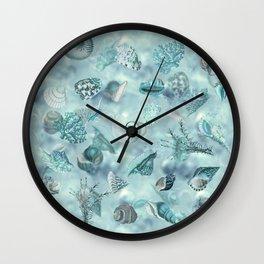 Sea shells Wonder 2 Wall Clock