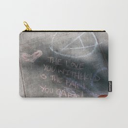 It's Just Words - #OWS Carry-All Pouch