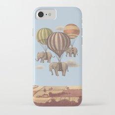 Flight of the Elephants - colour option Slim Case iPhone 7