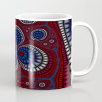 paisley Mugs featuring Paisley by Christy Leigh