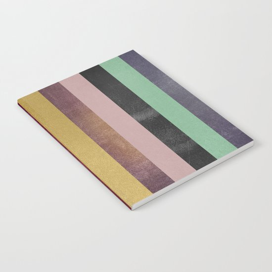 Stripe Combination Notebook