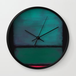 Rothko Inspired #8 Wall Clock