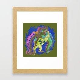 Wut Radyashun? Framed Art Print