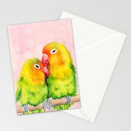 Lovebirds Stationery Cards