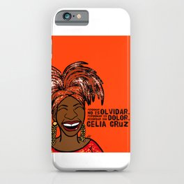 La Reina Celia Cruz iPhone Case