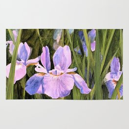 Wild Iris Rug
