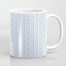Blue Heart multiple Coffee Mug