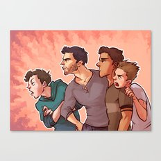 Scott McCall Defense Squad Canvas Print
