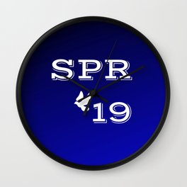 Spring 19 Blue and White Limited Edition Wall Clock