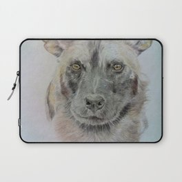 Wild African dog Laptop Sleeve