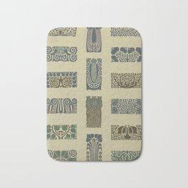 Art Nouveau Patterns Bath Mat