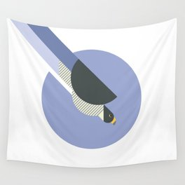 Peregrine Falcon vector illustration Wall Tapestry
