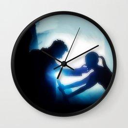 The Broken One (Burying The Hatchet) Wall Clock