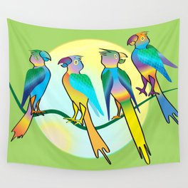 All a Twitter Wall Tapestry