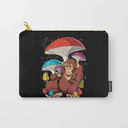Psychedelic Psilocybin Magic Mushrooms Stoned Ape Carry-All Pouch