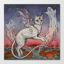 Spirits Of All Hallows Eve Canvas Print
