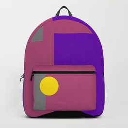 Moon and Sunset Backpack