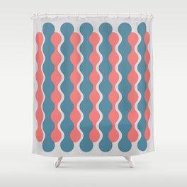 Midcentury Pattern 05 Shower Curtain