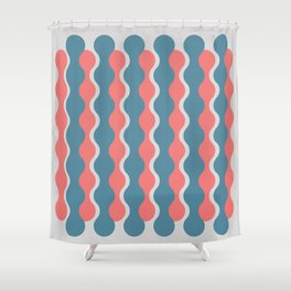 Midcentury Pattern 05 Shower Curtain