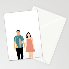 Holding Hands Stationery Cards
