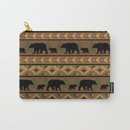 Black Bear and Cub Carry-All Pouch