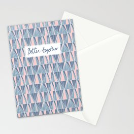 Ade Blue Stationery Cards