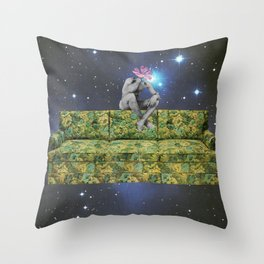 "122 - ""you're still coming right?"" Throw Pillow"