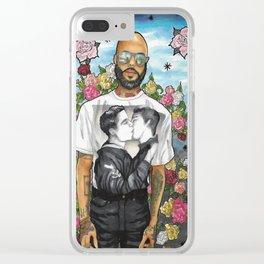 Zach Clear iPhone Case