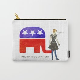 Not My Government #NotMyGovernment Carry-All Pouch