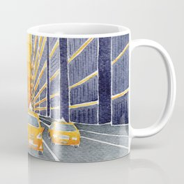 NYC, yellow cabs Coffee Mug