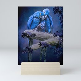 When I'm Feeling Blue Mini Art Print