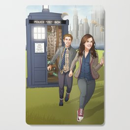 Fitzsimmons - Running Through Time and Space Cutting Board