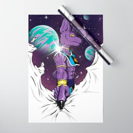 Beerus The Destroyer Wrapping Paper